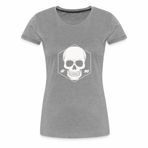 DR SKULL WHITE - Frauen Premium T-Shirt