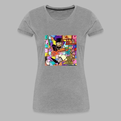 Vunky Vresh Vantastic - Vrouwen Premium T-shirt