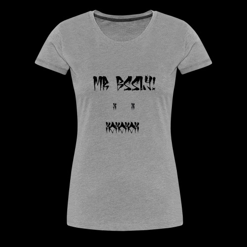 mr bssly white - Frauen Premium T-Shirt
