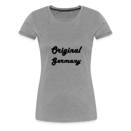 Original Germany - Frauen Premium T-Shirt