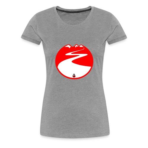 Montagne rouge - T-shirt Premium Femme