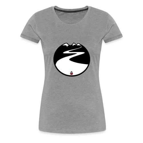Montagne noire - T-shirt Premium Femme