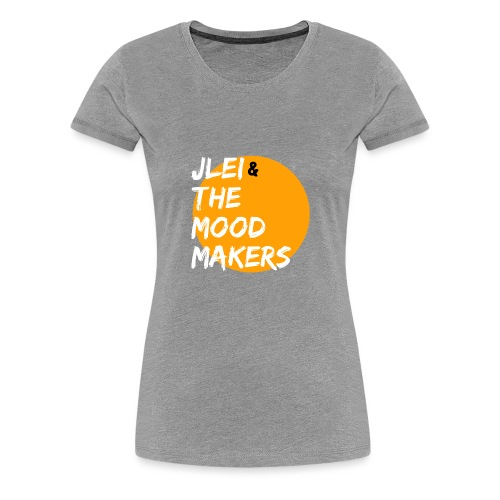 Jlei & The Mood Makers Bandlogo - Frauen Premium T-Shirt
