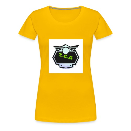 Cool gamer logo - Women's Premium T-Shirt