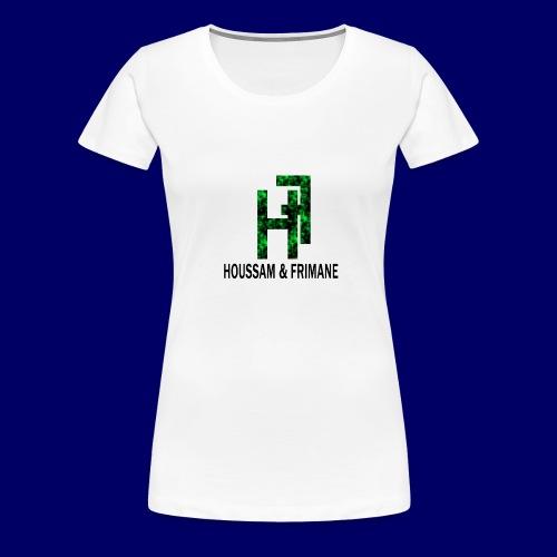 h&f - Maglietta Premium da donna