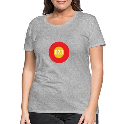 023 logo - Vrouwen Premium T-shirt