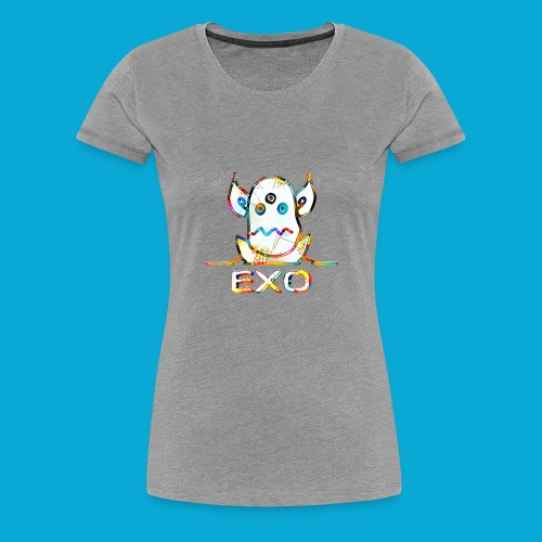 Exo(t) - von außen einwirkend - Frauen Premium T-Shirt