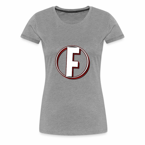 FLANQER - R - RED - Vrouwen Premium T-shirt