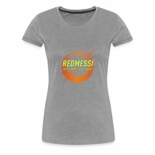 Redmessi Mixes V2 - Frauen Premium T-Shirt