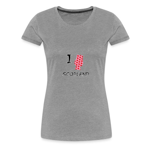I Love Scotland - Glencairn - Women's Premium T-Shirt