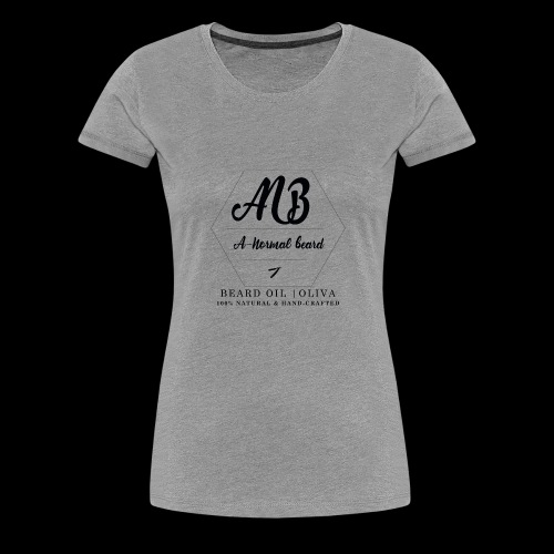 Beard Oil | Oliva Logo - Frauen Premium T-Shirt