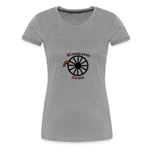 626878 2406580 lennyromanodromutanbakgrundsvartbjo - Premium-T-shirt dam
