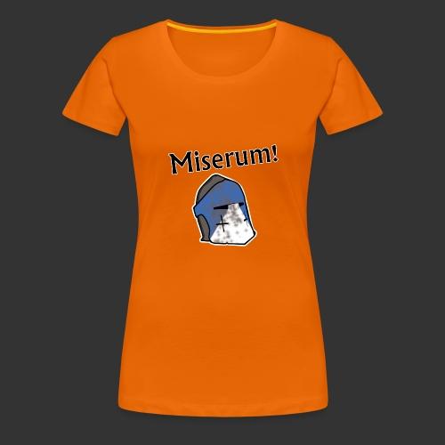 Warden Cytat Miserum! - Koszulka damska Premium