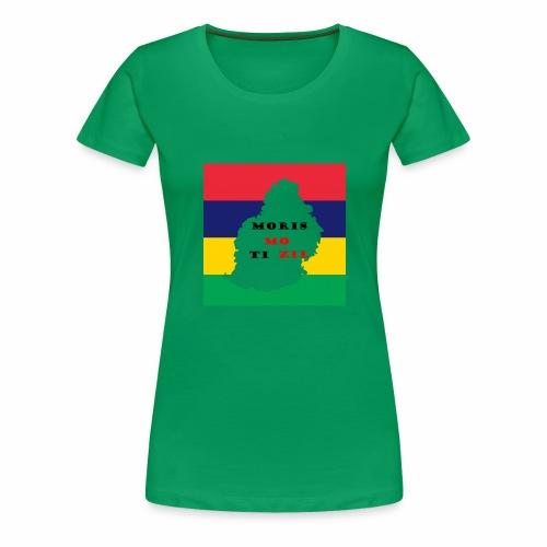 MORIS MOTIZIL - T-shirt Premium Femme