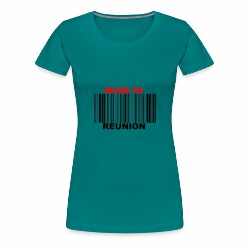 MADE IN REUNION - T-shirt Premium Femme