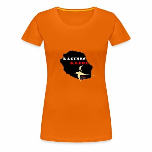 RACINES KREOL - T-shirt Premium Femme