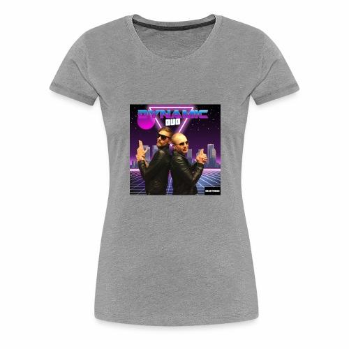 RETRO BEAST MOOD - Premium-T-shirt dam