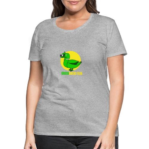 Greenduck Film In the Sun Logo - Dame premium T-shirt
