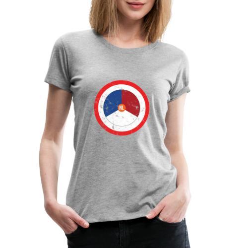 NL washed logo - Vrouwen Premium T-shirt