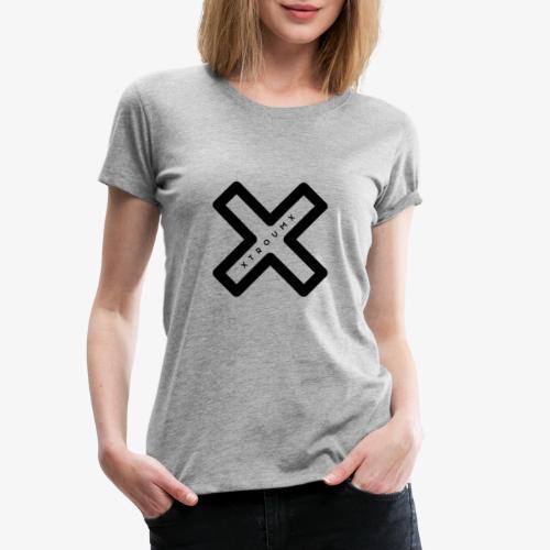 Troum Kreuzlogo - Frauen Premium T-Shirt