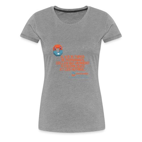 10 types de personnes - T-shirt Premium Femme