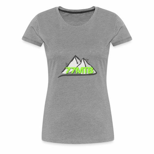 77MTB- Wir biken für einen guten Zweck - Frauen Premium T-Shirt