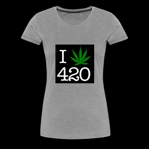 WEED 420 MERCH - Women's Premium T-Shirt