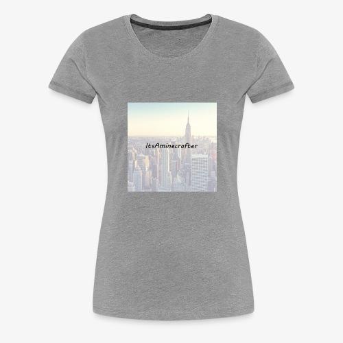 ItsAminecrafter - Vrouwen Premium T-shirt