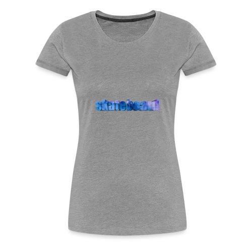 Skate - Dame premium T-shirt