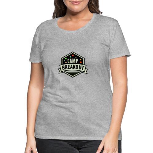 Camp Breakout Logo 2018 - Frauen Premium T-Shirt