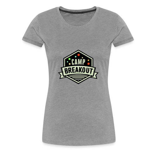 Camp Breakout Logo 2018 - Frauen Premium T-Shirt