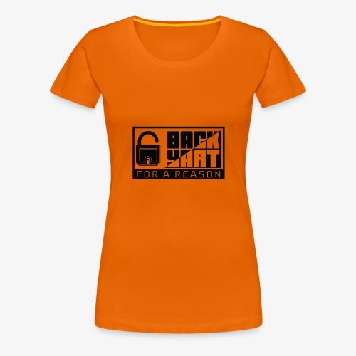 backart - for a reason - Women's Premium T-Shirt