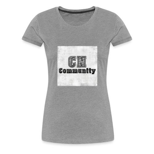 CN Community Logo - Vrouwen Premium T-shirt