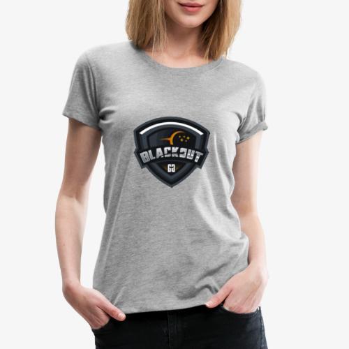 Blackout - T-shirt Premium Femme