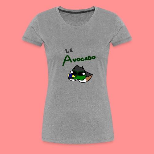Le Avocado - Women's Premium T-Shirt