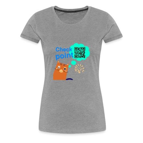 Duna Checkpoint - Premium T-skjorte for kvinner
