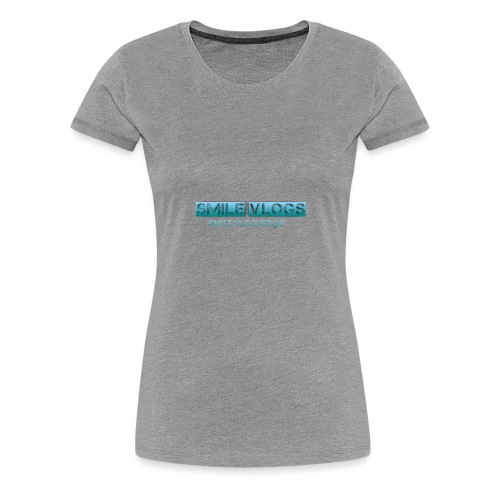 SMILE vloguer@s - Camiseta premium mujer