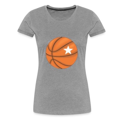 Basketball Star - Vrouwen Premium T-shirt