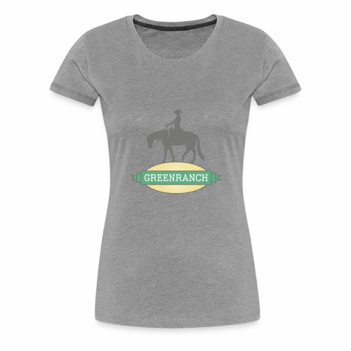 greenranch logo - Frauen Premium T-Shirt