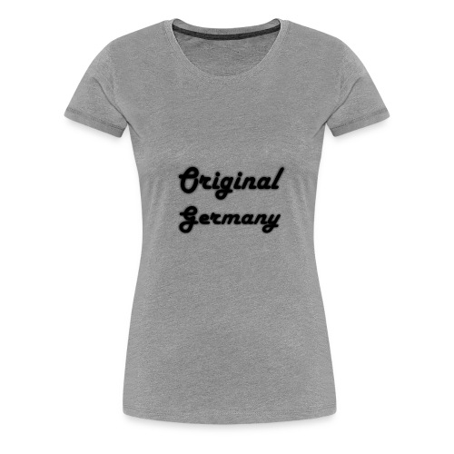 Original Germany - Frauen Premium T-Shirt
