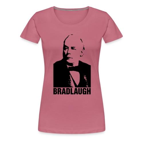 nssshirtbradlaughblack - Women's Premium T-Shirt