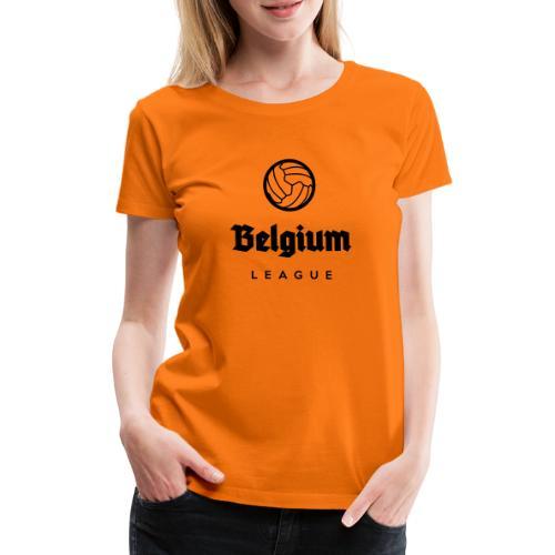 Belgium football league belgië - belgique - T-shirt Premium Femme