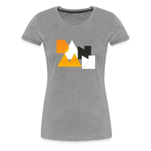 BANAAN 03 - Vrouwen Premium T-shirt