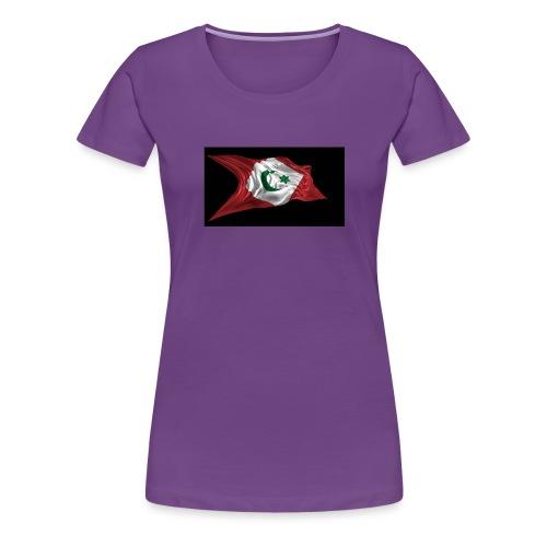 rif flag drapeau du rif de 1921 au 1927 Tamazgha.. - Vrouwen Premium T-shirt