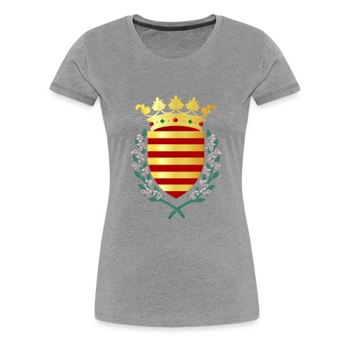 Wapenschild Borgloon - Vrouwen Premium T-shirt