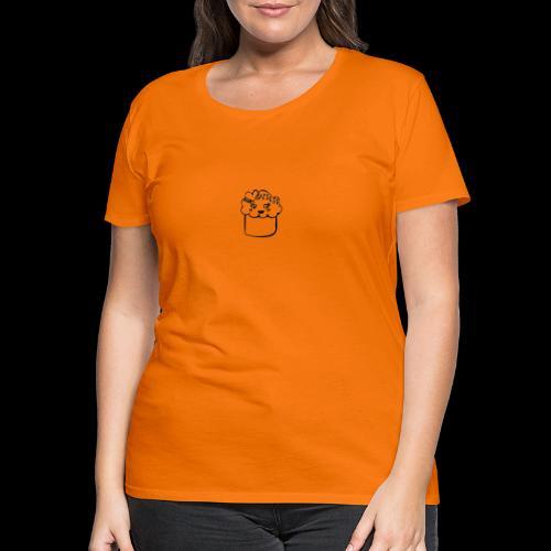 muffin herz - Frauen Premium T-Shirt