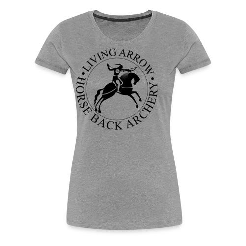 Living Arrow - Women's Premium T-Shirt