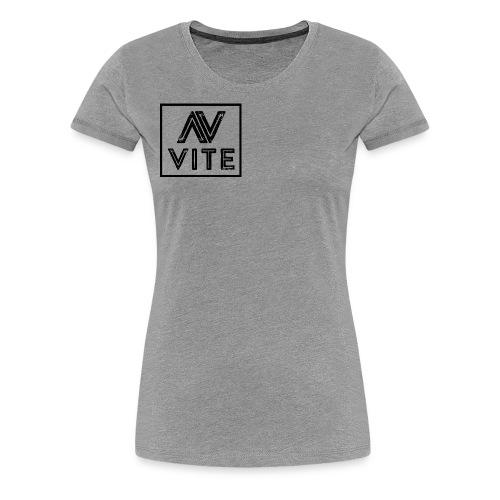 Dark logo transparent background - Dame premium T-shirt