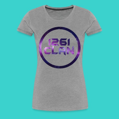 1261 Clan Galaxy2 Logo - Women's Premium T-Shirt