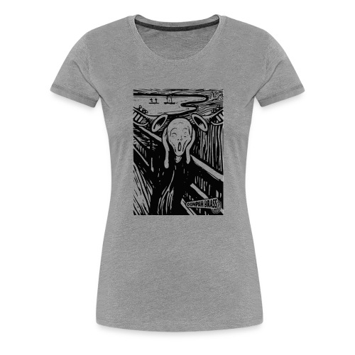 Oompah Brass Scream - Women's Premium T-Shirt